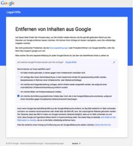 Entfernen von Inhalten aus Google_2