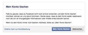 Facebook_Konto löschen
