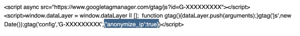 IP-Adressen anonymisieren mit Google Analytics 4